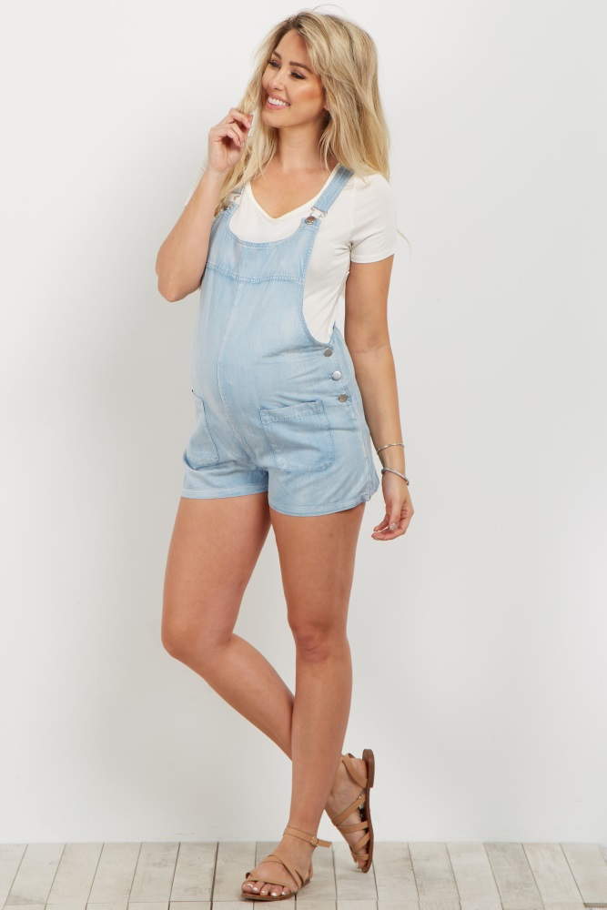 light blue denim overall shorts wucdnpv