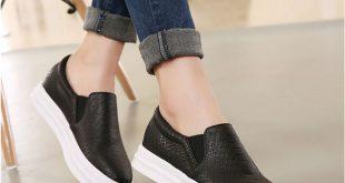 loafers for women online shop new platform black/pink loafers serpentine shoes women flat  shoes soft cvosbff