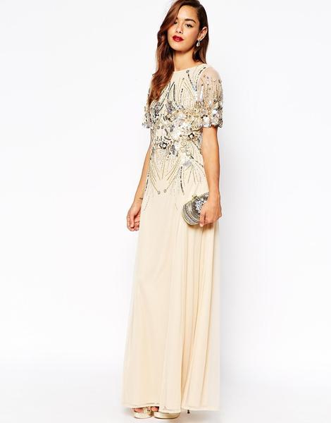 maxi dresses for weddings asos sparkle embellished mesh maxi dress $272 erphucy