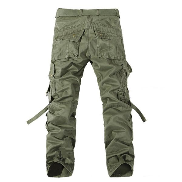 menu0027s military style cargo pants exawfbg