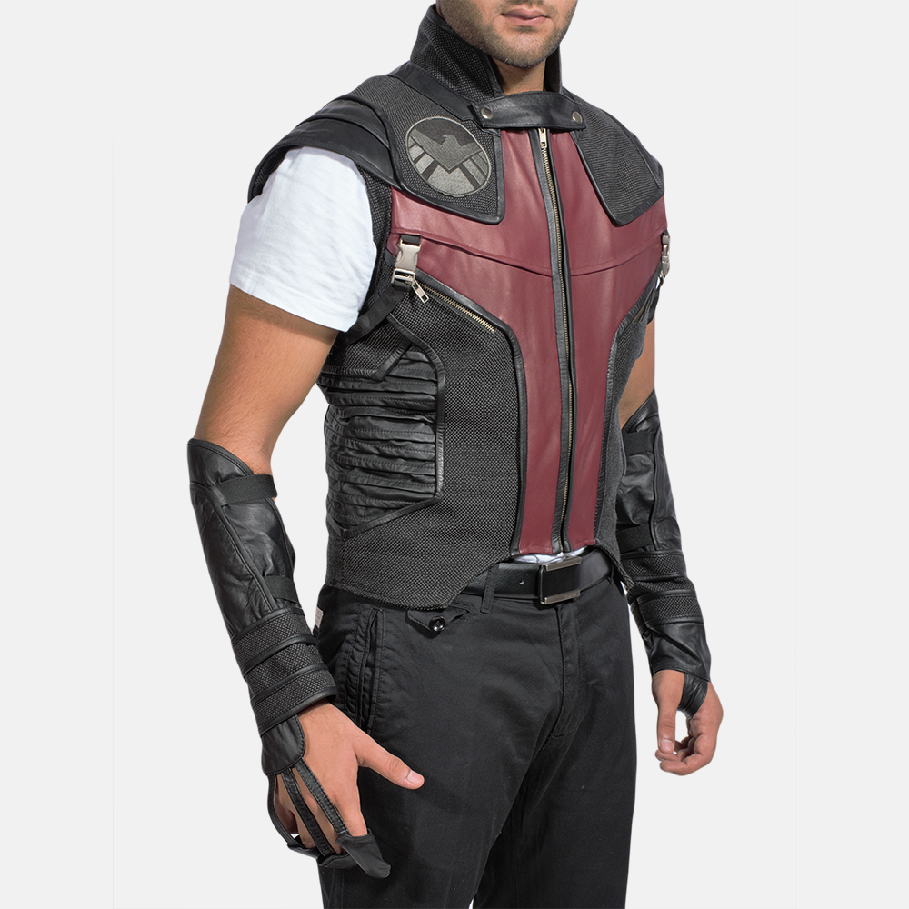 Style and comfort with men leather vest