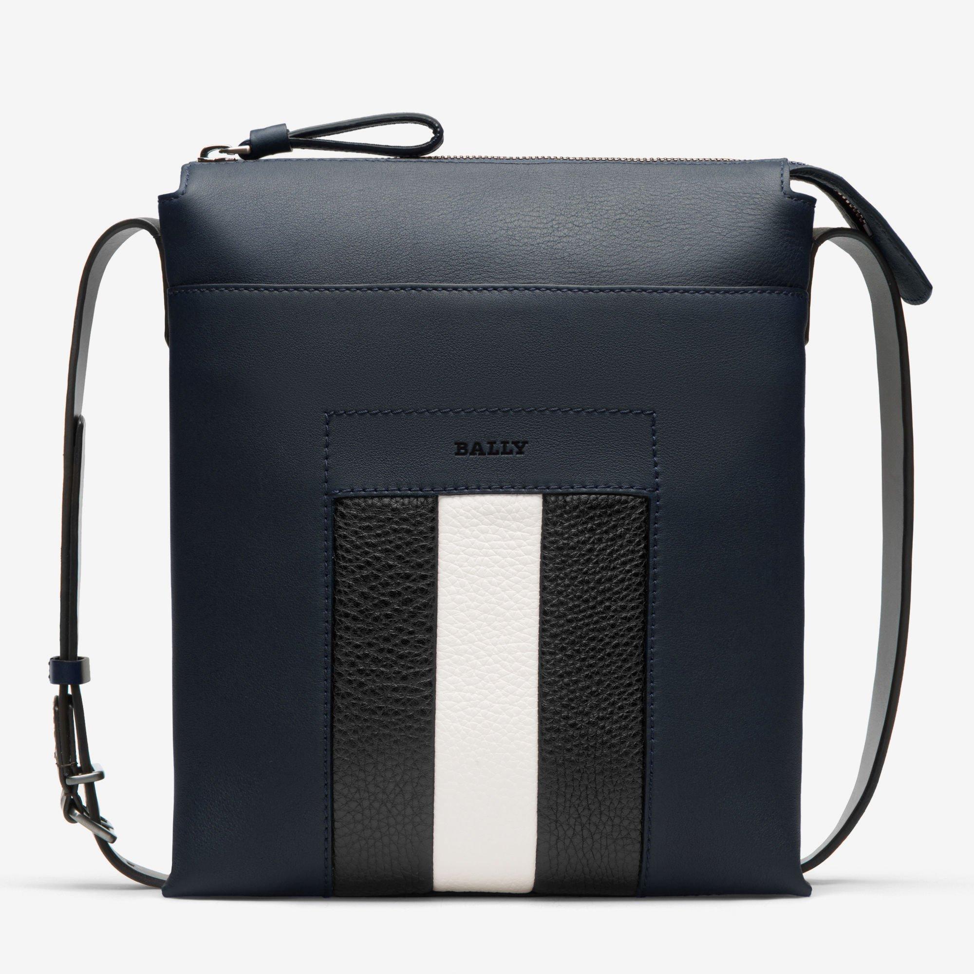 mens bag baumas| menu0027s messenger bag | bally accessories cexsrlu