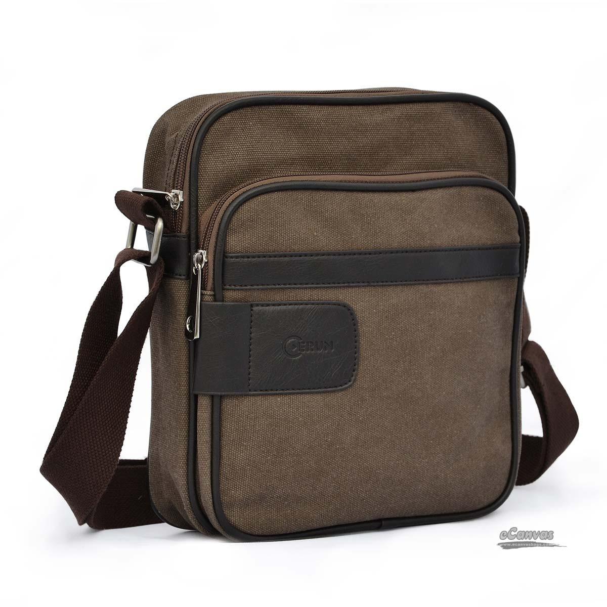 mens bag retro business bag coffee ... rpopidu