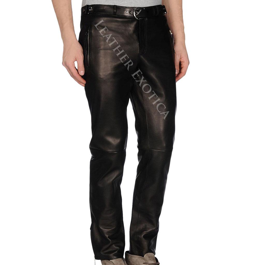 mens leather pants classic lamb skin men leather pants bmaxklh
