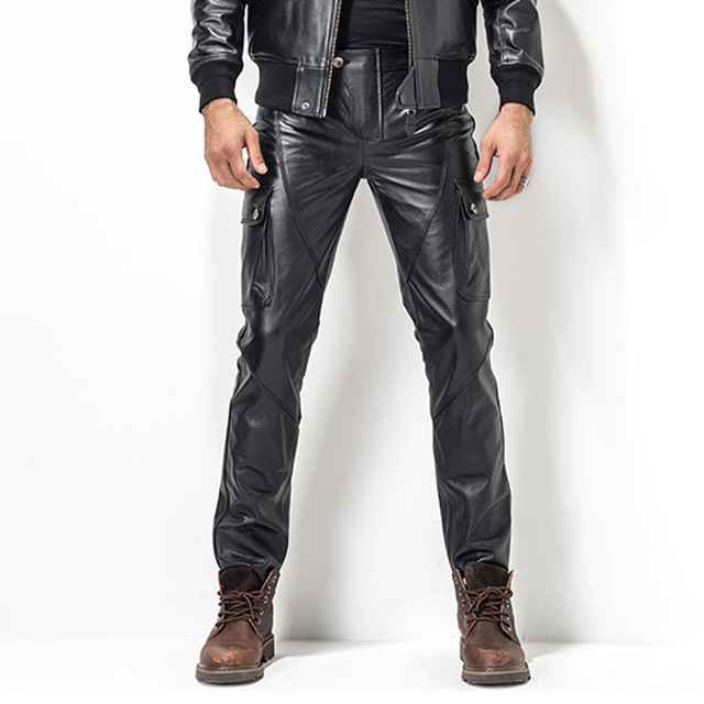 How to rock them Men's Leather Pants