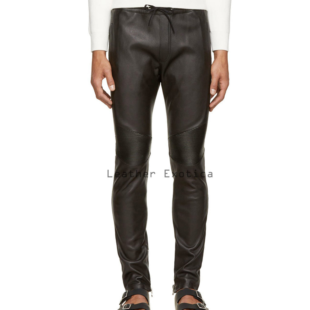 mens leather pants online men leather classic track pants | designer style men leather track mpawxri