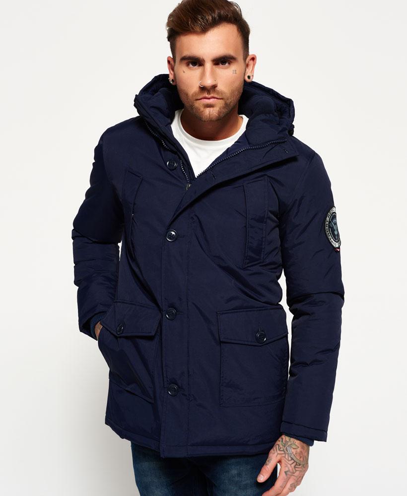 mens parka sentinel new mens superdry everest parka jacket navy wkddqfk