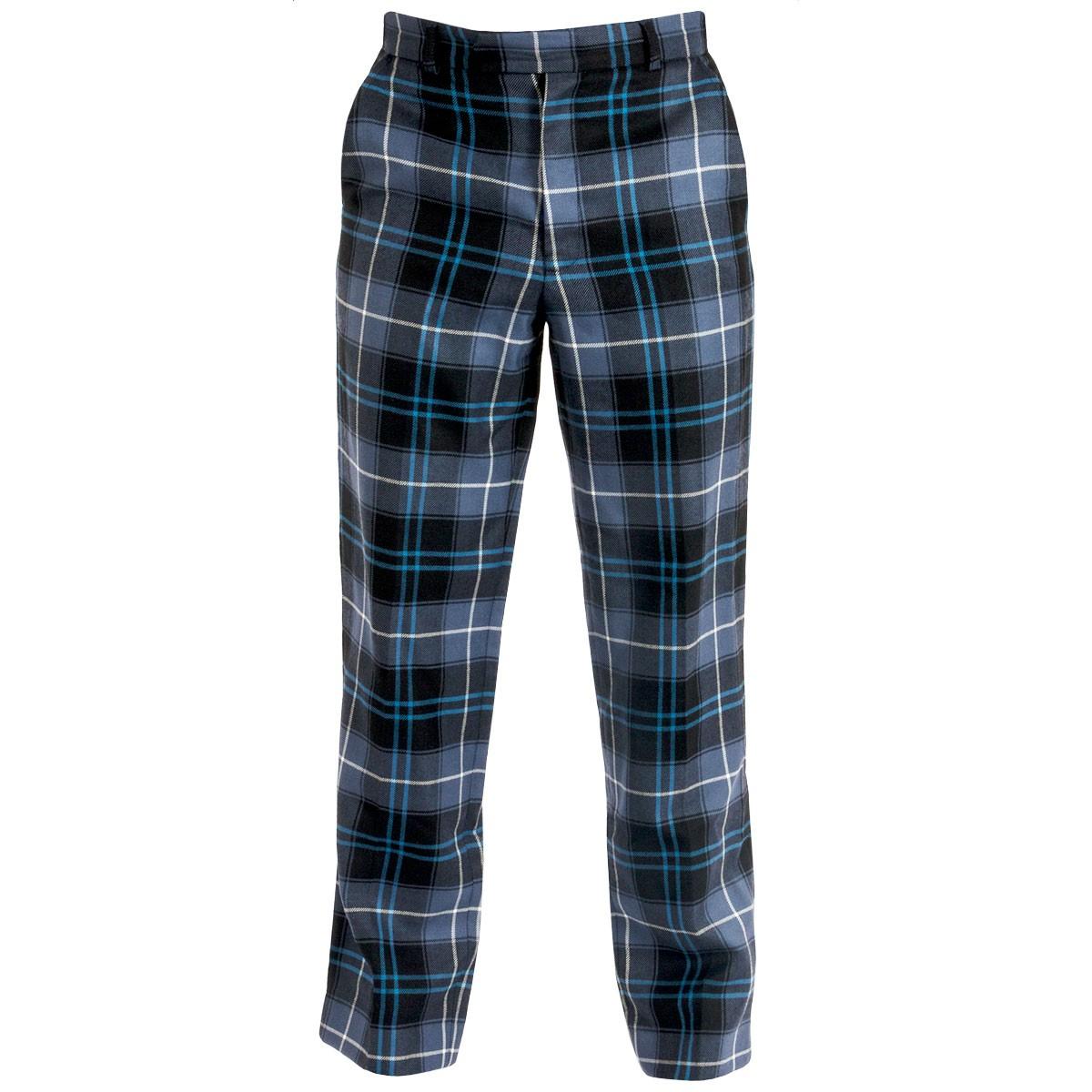 mens reiver tartan trousers | lochcarron of scotland stnverd