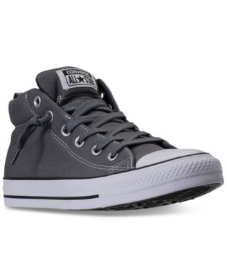 mens sneakers converse menu0027s chuck taylor all star street mid casual sneakers from finish dfmbspv