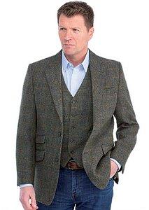 mens tweed jacket harris tweed for the larger gentleman a range of jackets and waistcoats in dakkqbf