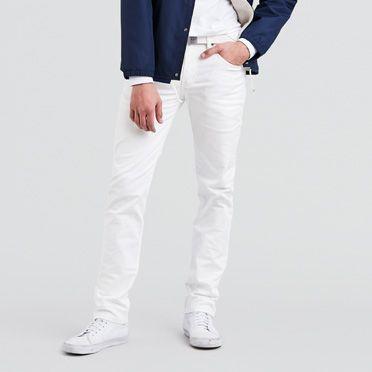 mens white jeans menu0027s leviu0027s 511™ skinny stretch jeans in black   leviu0027s® qlwprlt