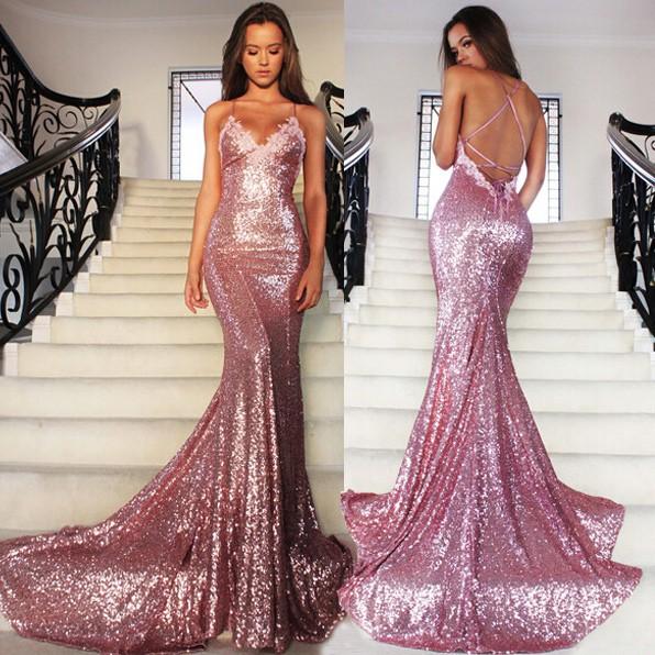 mermaid prom dresses backless mermaid prom dress, sexy sequin prom dress, prom dresses 2017,  backless dgwboba