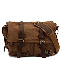 messenger bags for men canvas leather messenger bag shoulder bag cross body bag for men military wpgplvf