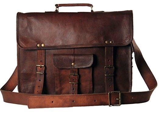 messenger bags for men handmadecart leather messenger briefcase laptop shoulder school military  satchel for mens and zahdnkj