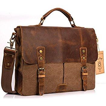 messenger bags for men niceebag leather messenger bag vintage canvas laptop shoulder bag men  briefcase fits zyvefss