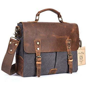 messenger bags for men niceebag messenger bag for men and women,leather satchel bag vintage canvas  laptop flesrye