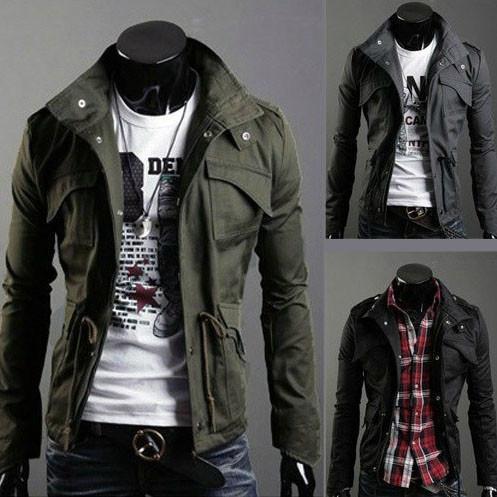 military style jacket - - jacket -his. txdbquv
