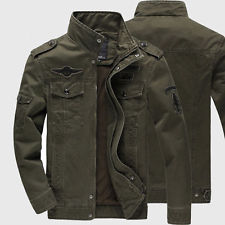 military style jacket men military army style jacket fashion air force casual jacket outwear plus xiuagsm