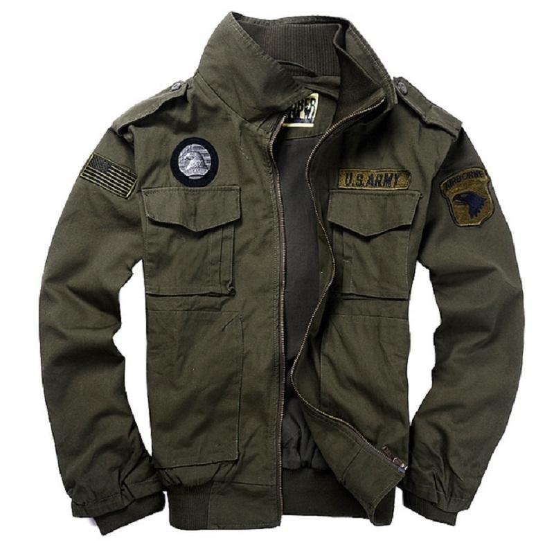 military style jacket military style jackets pilot coat usa army 101st airborne division air  force mpaiaau