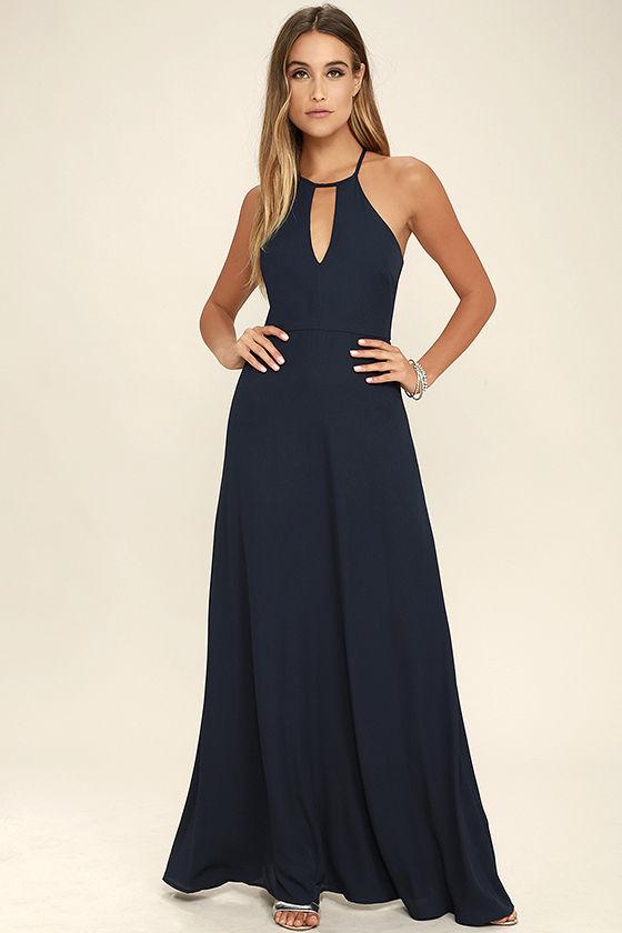 navy blue dress beauty and grace navy blue maxi dress 1 oldgbhi