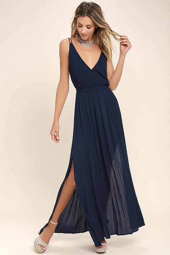navy blue dress lost in paradise navy blue maxi dress 1 ajpstln