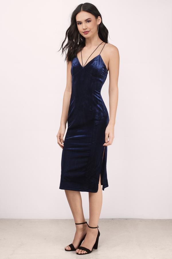 navy blue dress navy blue dresses, navy, only one velvet midi bodycon dress, ... eyjolws