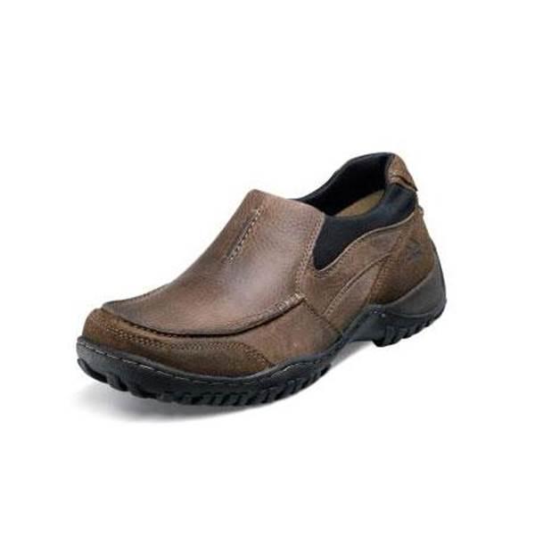 nunn bush shoes menu0027s portage slip-on casual shoes krodnqv