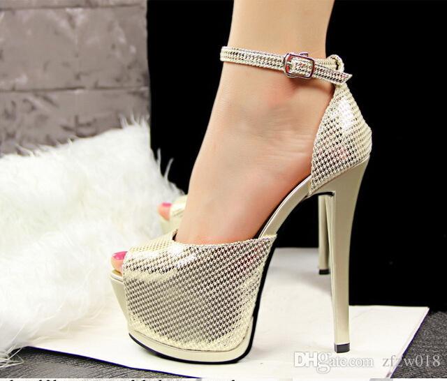 open toe womenu0027s sandals 2017 new style platform high heels for women sexy vfxvlok
