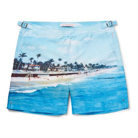 orlebar brown bulldog mid-length printed swim shorts yadbbma