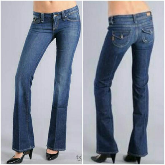 paige denim u0027picou0027 flap pocket bootcut jeans xgtqgjn
