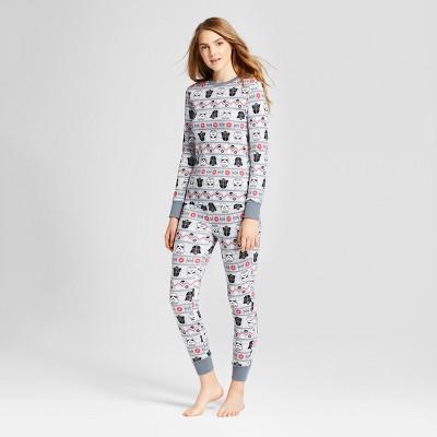 pajamas for women womenu0027s star wars® 2pc pajama set - gray ghkaupa