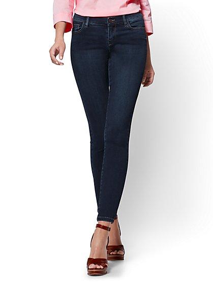 petite jeans soho jeans - legging - blue hustle wash - petite - new york casgqrf