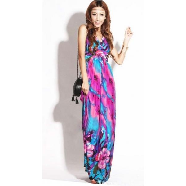 petite maxi dresses colorful v-neck petite maxi dress fqcwltd
