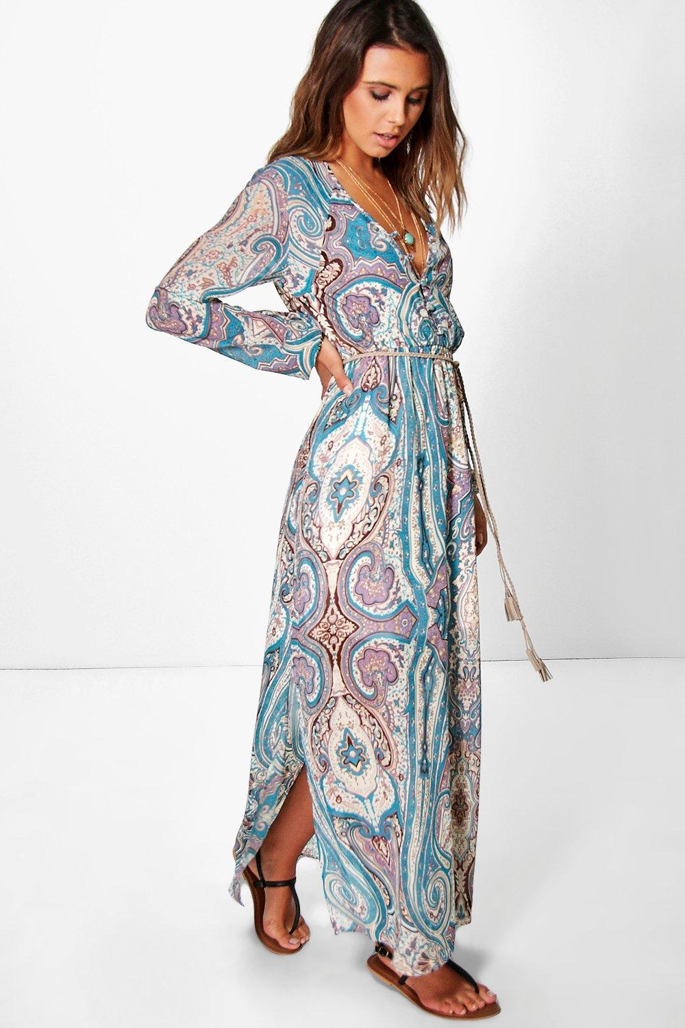 petite maxi dresses petite polly paisley cage back maxi dress. hover to zoom ugmuquk