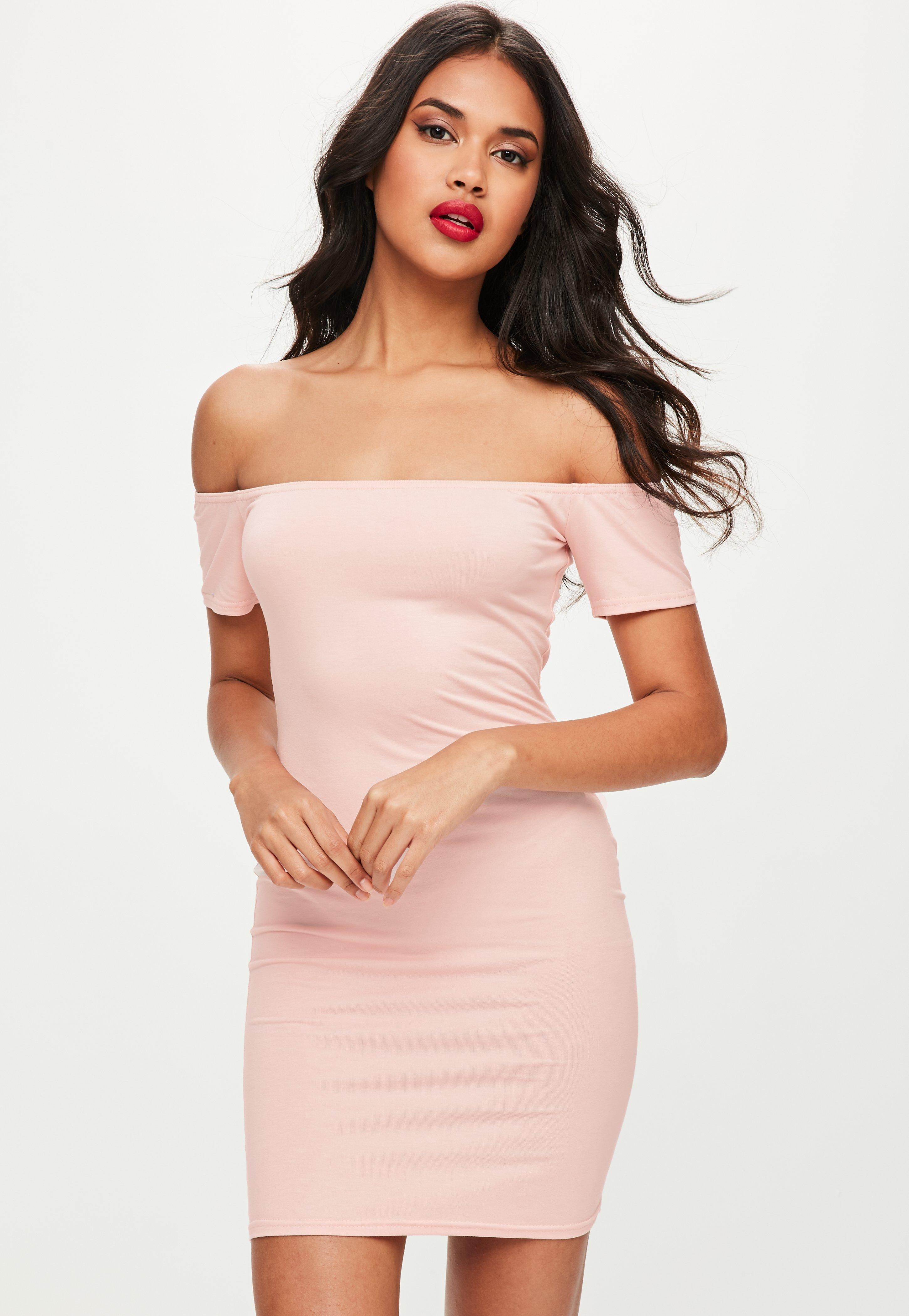 pink dress pink dresses - coral, hot u0026 light pink dresses | missguided mohxpsy