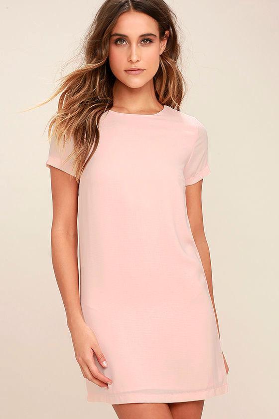 pink dress shift and shout blush pink shift dress 1 scfwmnz