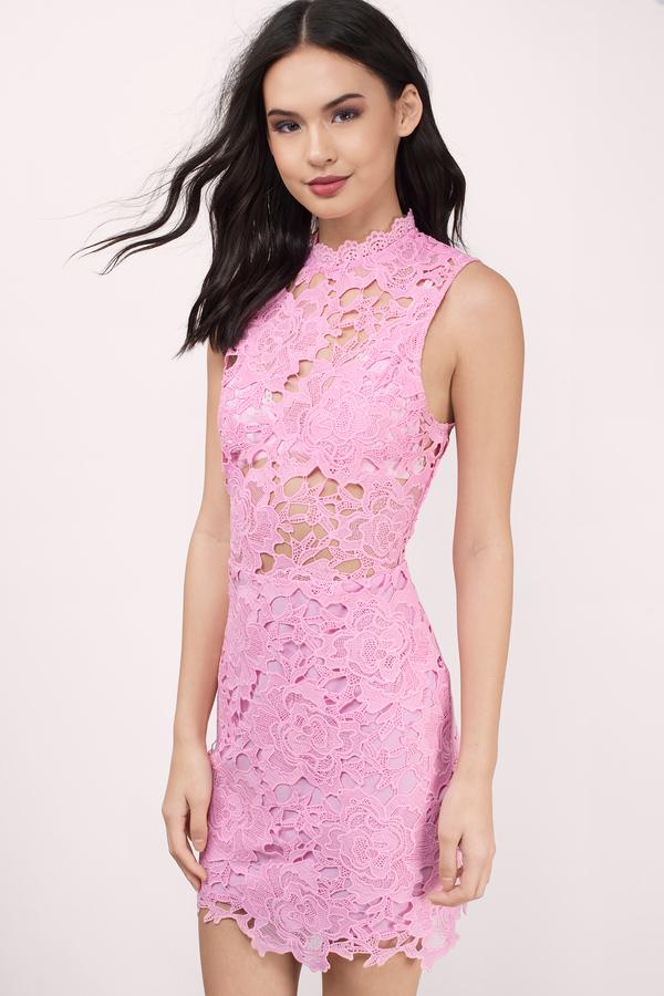 pink dress sweet fantasy pink lace bodycon dress stuzrrc