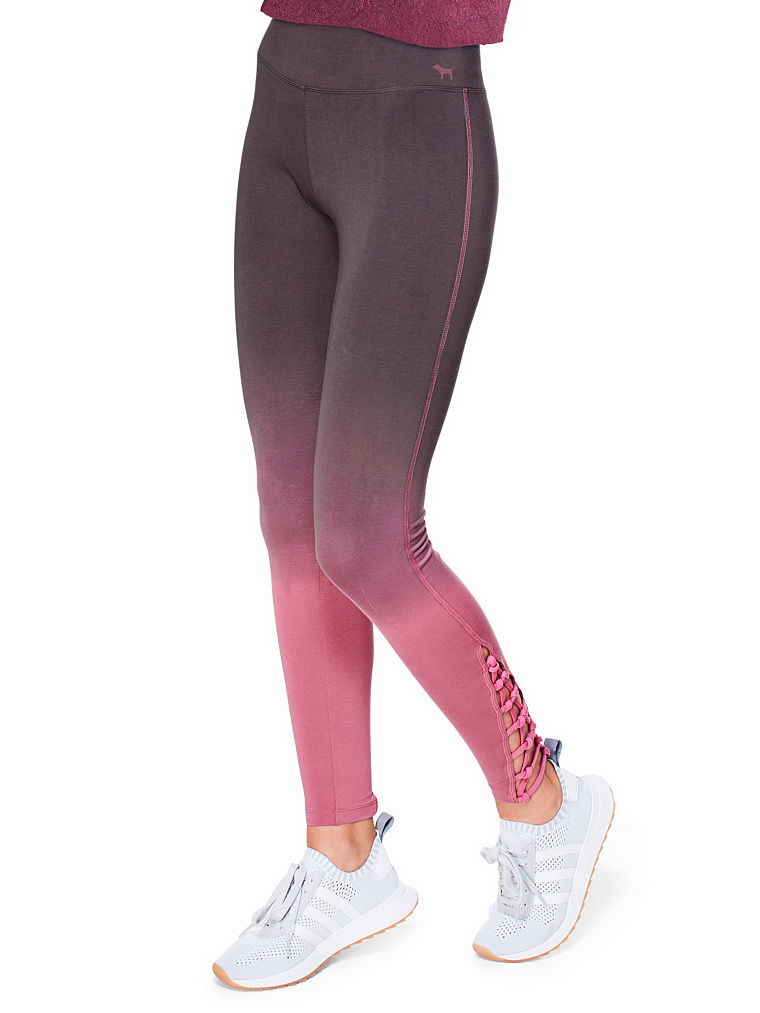 pink leggings cotton strappy legging tzljxfz