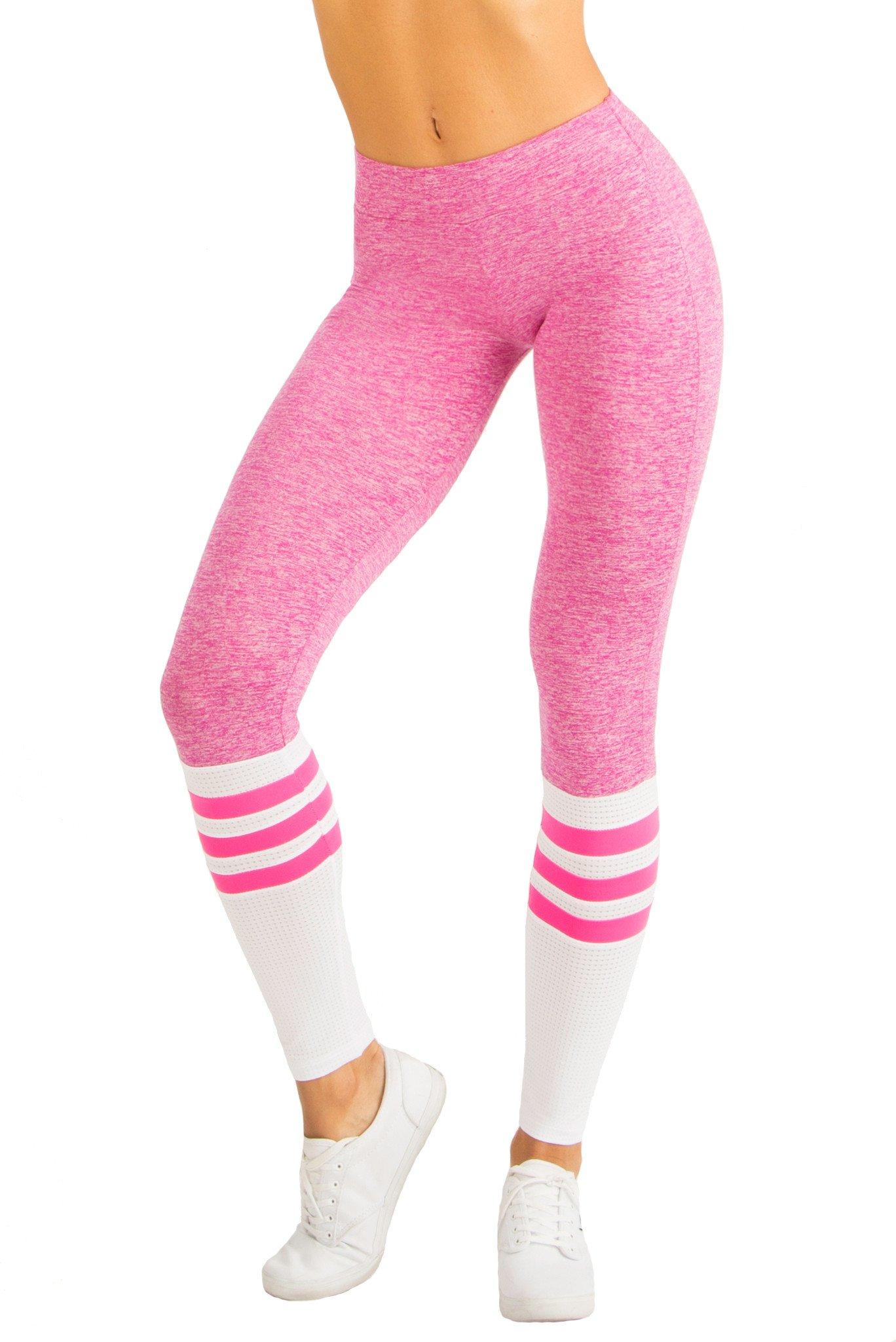 pink leggings sock leggings - pink bstasjs