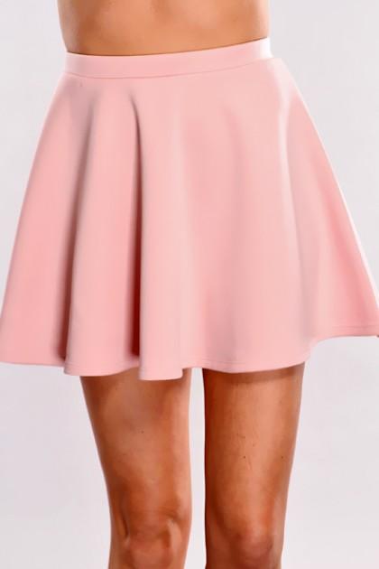 pink skirt pink high waist skater skirt @ amiclubwear clothing skirts online  store:long skirt,mini vqvpaxj