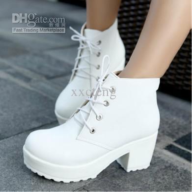 platform shoes for women locomotive boots martin boots platform shoes short boots women chunky heel  ankle josraie
