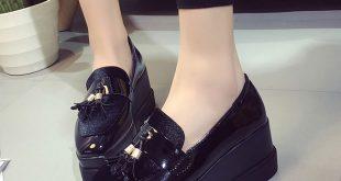 platform shoes for women spring woman flat platform shoes fringe slip on shoes women oxfords shoes hdzdhzd