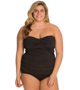 plus size bathing suits ... plus size d-cup up swimwear crewfoh