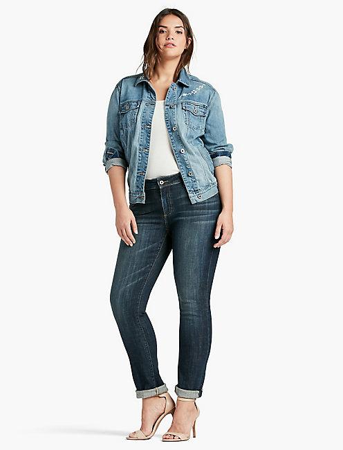 plus size boyfriend jeans 410 lucky plus size reese boyfriend jean in matira vwhbhta
