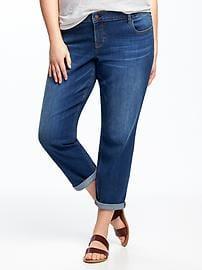 plus size boyfriend jeans eco-friendly boyfriend skinny plus-size jeans ipdjiwf