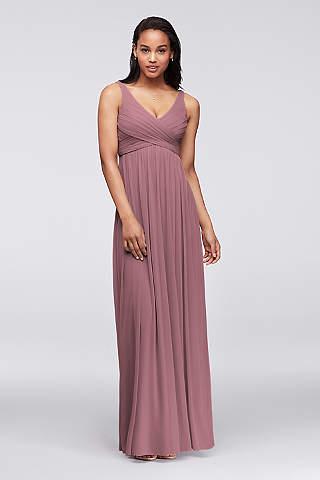 plus size bridesmaid dresses soft u0026 flowy davidu0027s bridal long bridesmaid dress iqojdjf
