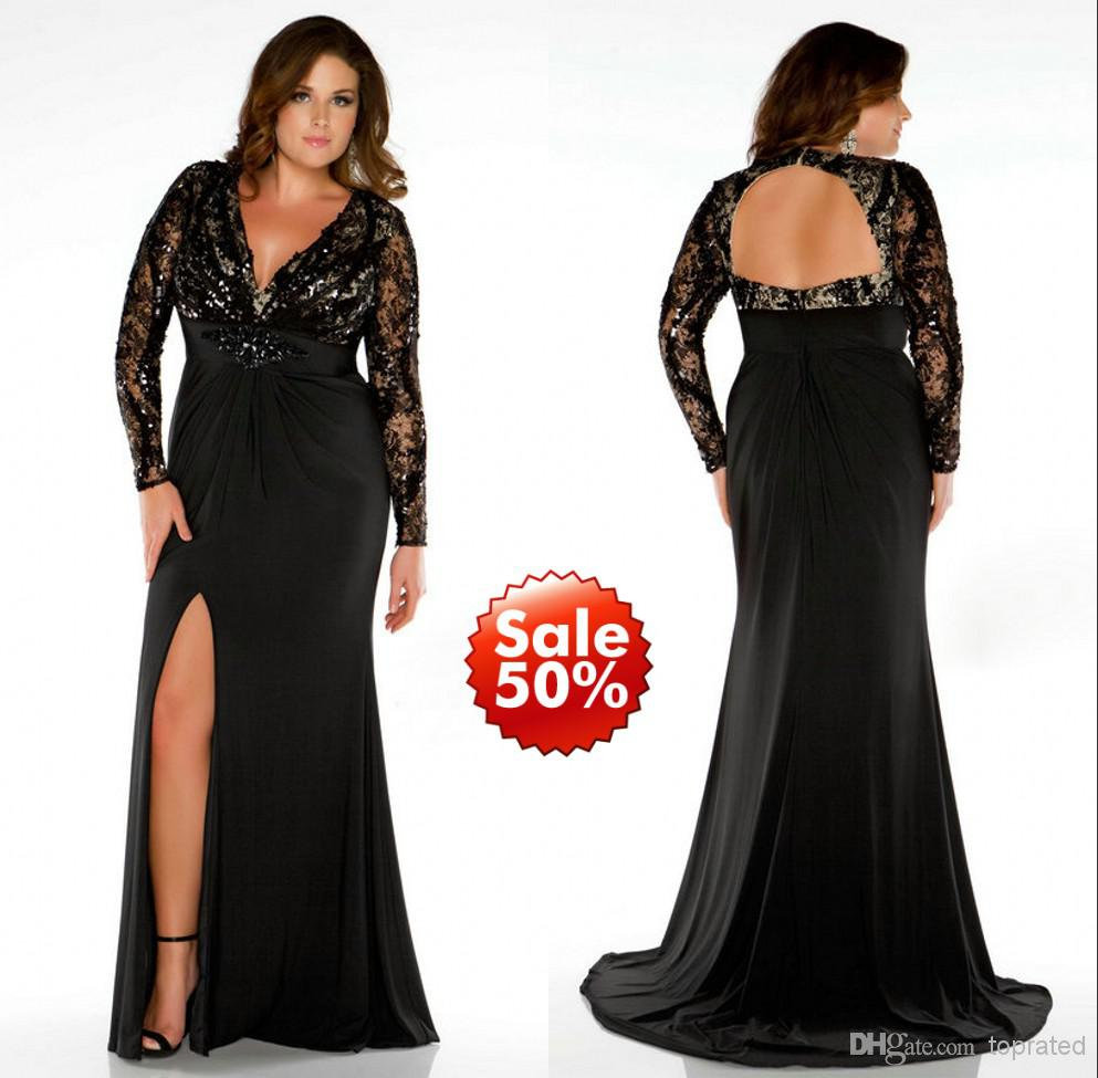plus size formal dresses 2015 plus size prom dresses lady evening gown formal with mermaid v neck bxkkiyr