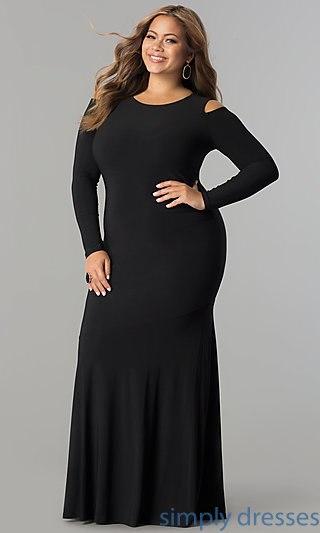 plus size formal dresses plus-size cold-shoulder long formal evening dress . cewqtkg