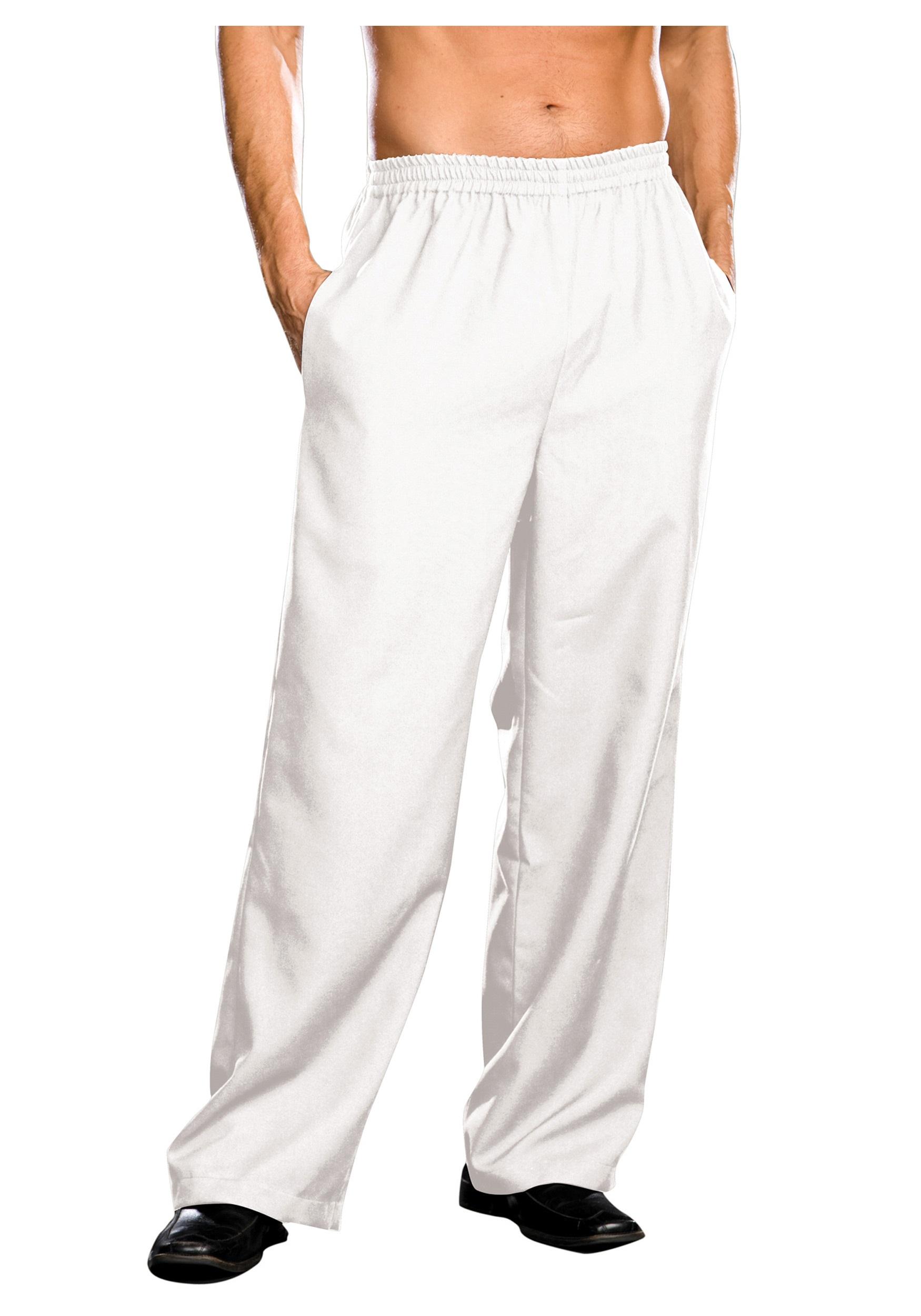 plus size mens white pants qkwunan