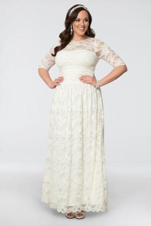 plus size wedding dress save vaesrje